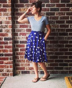 Trying out the Madison skirt today while I register kids for school, get back to…