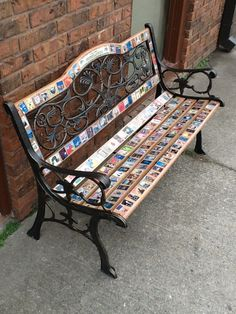 "A book bench created by Jim Robbins, the author of ""The Remarkable Friendship of Aristotle & Burgoo"""
