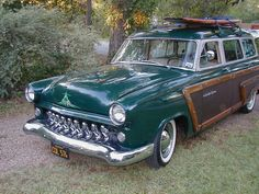 '53 Ford Country Squire Custom Woody Wagon