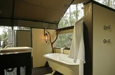 If you never thought camping could be luxurious, check out these posh tents nestled in the Australian bush.