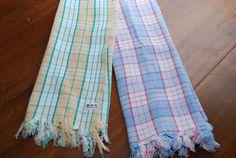 Vintage Bath Cotton Towels by Nogginsandnapes on Etsy, $15.00