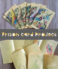 Make Orthodox cards this Nativity season using our template - and find out how our students prepared hand-made Christmas cards for our fellow men and women in prison.