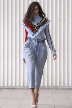 Anna October Autumn/Winter 2017 Ready to Wear Collection   British Vogue