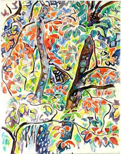 Anderson, Walter Inglis - Watercolor -