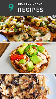9 Healthier Nacho Recipes