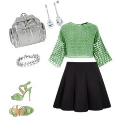Untitled #10 by eileen-salguera on Polyvore featuring polyvore fashion style TIBI Semilla Pierre Hardy BERRICLE