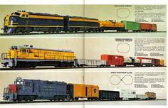 Cox HO train sets