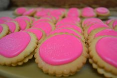 What is sweet and tangy and bright pink all over? Pink Lemonade Cookies! And we've got the delicious #recipe...