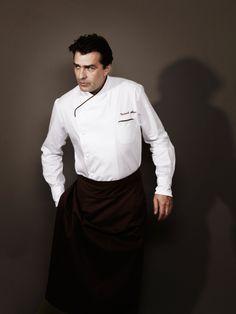 Chef Yannick Alleno.