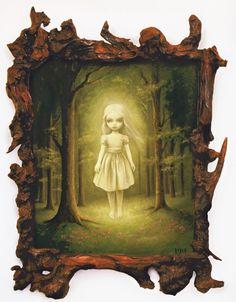 Chica Fantasma (2006) de Mark Ryden.