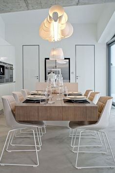 Some ideas to inspiring you to decorate your room dining - La maison ah au bresil par le studio guilherme torres ...