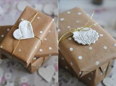nice and simple gift wraps