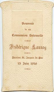 images Souvenirs de la Communion Solennelle - Le grenier de l'école