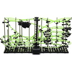 Iggi Spacerail Level 4 - Glow In The Dark Perpetual Rollercoaster 5 Rail Tracks, 2015 Amazon Top Rated Magnets & Magnetic Toys #Toy