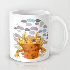 Bubbles Axolotl Mug