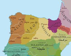 Political situation in the Northern Iberian Peninsula around 1065.
