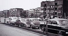 表参道 同潤会青山アパート (around 1952)