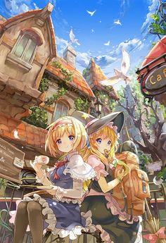 pixiv - Marisa and Alice