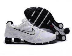 free shipping a108b 93ca6 Nike Store. Nike Shox Turbo 12 Men's Running Shoes - White - Wholesale &  Outlet