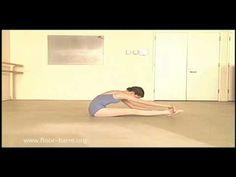 Zena Rommett, founder of Floor Barre(R) Technique gives an Intermediate Ballet Class to Dancer: Sarah Cunningham