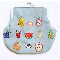 """3,950 Likes, 46 Comments - Irem Yazici (@_.baobap._) on Instagram: """"#tbt I made this purse in 2014 and i'm so sad that i can't remake another one since i ran out of…"""""""