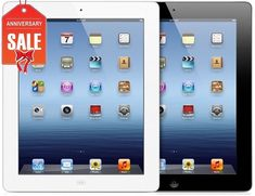 Apple iPad 4th WiFi Tablet RETINA | Black or White | 16GB 32GB 64GB 128GB (R-D)  | eBay
