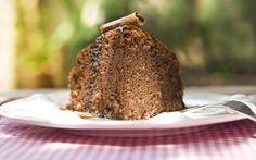Receita de Bolo de chocolate com calda de café - iG
