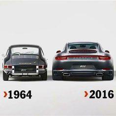 Porsche in width