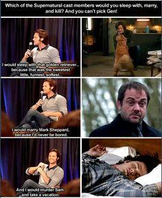 I'd  marry Mark  too!
