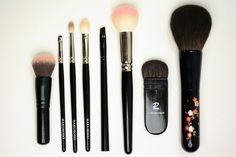 July Favorites: Brushes Edition - Hakuhodo, Chikuhodo, Rae Morris, Sephora Collection, Target