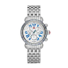 NEW Michele Women's MWW03M000163 Signature CSX-36 Carousel Blue Sapphire on Bracelet Quartz Limited Edition 36mm  > Price:	$979.99  > Only 1 left in stock.