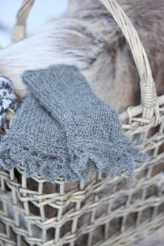 wicker baskets, wool, mohair, winter textures, natural fibres