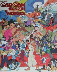 Capcom Design Works -japanese Illustration Art Book JPN for sale online Japanese Illustration, Illustration Art, Game Character, Character Design, Reference Manga, Street Fighter Characters, Comic Games, Manga Games, Mega Man