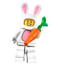 LEGO Minifigures - Series 7 - Guy In A Bunny Suit
