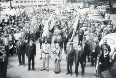 Sikh Parade 1945 - Stockton, California