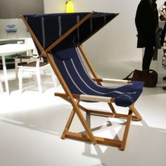 Superior Gårdshult, Garden Chair By John Kandell H D W 78 Frame In Oiled Oak,  Sunshade Seating And Roof. Adjustable Sunroof, Wrapped Armrests With Cotton  Rope. Nice Ideas
