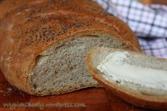 Bread Recipes, Cooking Recipes, Polish Recipes, Pumpkin Cheesecake, Bread Rolls, Bread Baking, Bon Appetit, Food To Make, Good Food