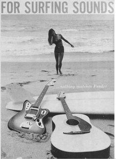 Fender Guitars - Tips To Understand The Guitar And Rock Out Fender Stratocaster, Fender Guitar Amps, Fender Electric Guitar, Surf Guitar, Surf Music, Cool Guitar, Easy Guitar, Music Guitar, Music Music