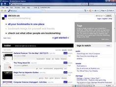 Social bookmarking is a great way to keep up with your favorite websites. -
