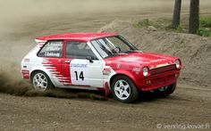 Toyota Starlet (KP61) Rally Car
