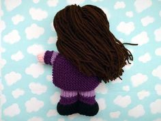 Supergirl, Superkid, Superhero Hand Knit Childrens Toy, Girl Superhero Doll, Stuffed Doll for Boys or Girls  Its a bird! Its a plane! Its SUPER GIRL! Here is an adorable hand knit doll, a perfect companion for children of all ages! Her super outfit is light purple with darker purple trim, shoes and cape. She has long dark brown hair, bright brown eyes and rosy red cheeks. All the parts have been hand knit separately and are securely attached for little hands. Her cape ties on with a bow and…