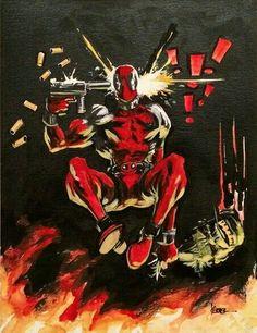 #Hulk #Fan #Art. (Deadpool vs Hulk) By: Kaare Andrews. (THE * 3 * STÅR * ÅWARD OF: AW YEAH, IT'S MAJOR ÅWESOMENESS!!!™)[THANK Ü 4 PINNING!!!<·><]<©>ÅÅÅ+(OB4E)