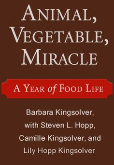 Tomato sauce recipe- suitable for canning or freezing the summer's bounty of tomatoes! FromAnimal, Vegetable, Miracle, by Barbara Kingsolver