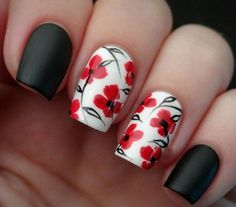 Color is very important in any visual designs, so is nail art. Discover top 100 white nail art designs that are actually easy! Flower Nail Designs, Flower Nail Art, Nail Art Designs, Nails Design, Dotting Tool Designs, Design Design, Design Ideas, Beautiful Nail Art, Gorgeous Nails