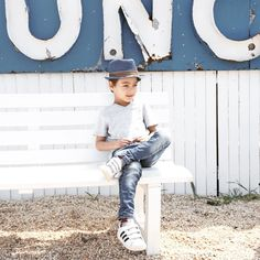 I have driven past this place for a while now and finally decided to stop in for lunch and Yuli's favorite dish fish & chips. The most stylish kid in the place. Can't believe He will be next month. Where did the time go? by diklagoren Little Fashion, Inspiration For Kids, Stylish Kids, Memorial Day, Superstar, Instagram Posts, Chips, Dish