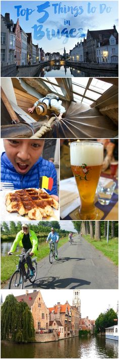 A guide for things to see, do, and eat in Bruges (a.k.a. Brugge), Belgium. Free walking tour, biking, beer, waffles, chocolate, and more.