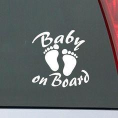 Nzsale.co.nz - Product:  Baby on Board car sticker