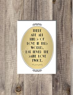 Love this Gatsby sign Famous Book Quotes, Famous Books, Never The Same, Same Love, Wall Art Quotes, Quote Wall, Cute Frames, The Great Gatsby, Typography Art