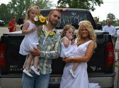 Corey Simms and New Wife Miranda - Teen Mom Baby Daddies And New Girlfriends – Teen Mom Pics   OK! Magazine
