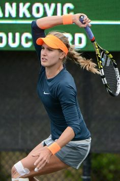 """Qualifier Eugenie Bouchard lost to Jelena Jankovic in 1hr & 2 mins, 6-2, 6-1, but she will be the answer to the question 'Who did Jelena beat to mark her 500th career match win? #trivia  JJ: """"I...I don't know who told me, but I was like, 'Really?...I had no idea how many wins I had. I'm really bad w/ statistics...it's pretty nice...a great achievement to get my 500th win...hopefully I can have many more...you have to have a pretty long career & be pretty consistent."""""""